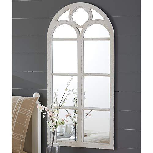 Park Designs Wood Window Mirror Distressed - White