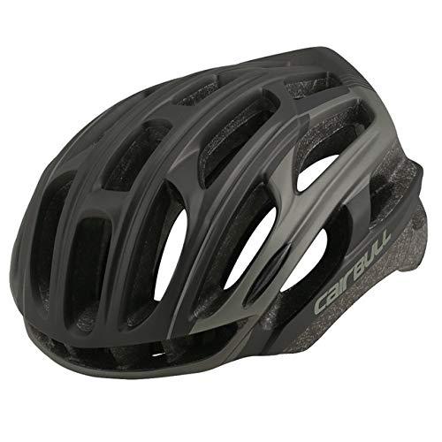 UKKD Casco de Bicicleta MTB Cascos Modelo De Bicicleta Aero Gafas Casco Ciclismo Ultralight MTB TT Casco De Neumático De Seguridad Bicicleta