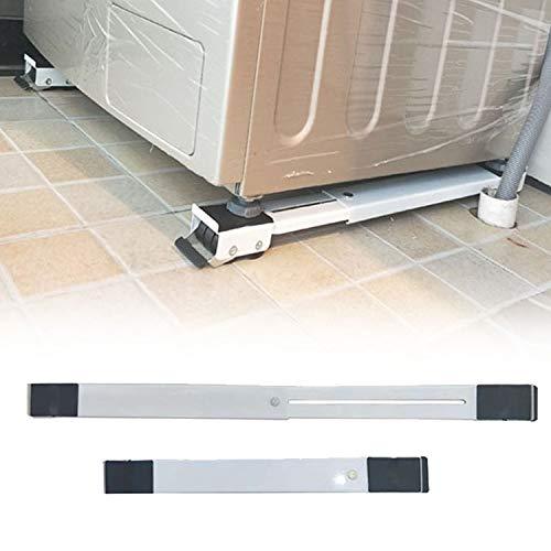 Liuting Appareils ménagers .Adjustable Machine à laver Réfrigérateur Support de socle Support réfrigérateur Machine à laver Chariot Support de montage