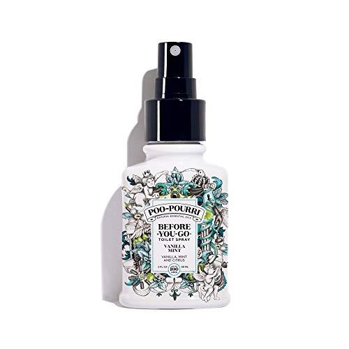 Poo-Pourri, Before-You-Go, Deodorante Spray per Il Bagno (Etichetta in Lingua Italiana Non Garantita), Vanilla, 2 oz