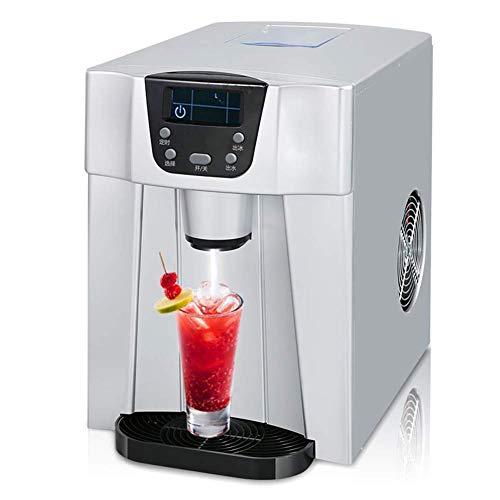 Ice Maker machine comptoir d'accueil, Glaçons Prêt 6 minutes 15 kg de glace / 24 heures, Timing Fonction, automatique de la glace d'eau Fetch petite échelle Tea Shop ggsm