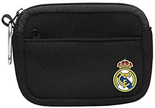 Real Madrid Neopreno Monedero Tiempo Libre y Sportwear, Adultos Unisex, Multicolor (Multicolor), Talla Única