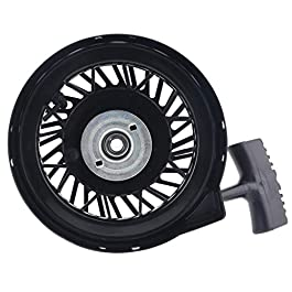 JIACUO Rewind Pull Recoil Starter for LEV120 Lawn Mower Brush Cutter Strimmer Garden
