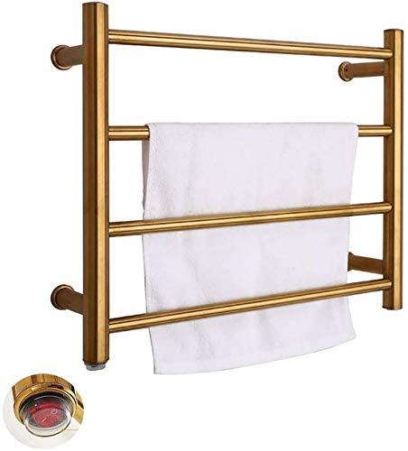 Calentador de toallas para secadora, calentador eléctrico de torre de acero inoxidable...
