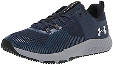 Under Armour Men's Charged Engage Cross Trainer, Academy Blue (401)/Steel, 11