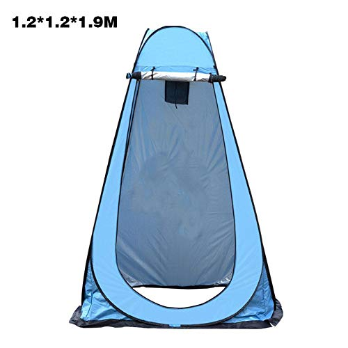 Toilet Tents Pop Up for Camping for Outdoors Waterproof,Pod Changing Room Privacy Tent, Easy Set Up Portable Outdoor Shower Tent,Rain Shelter for Camping and Beach - 120x120x190cm/150x150x190cm