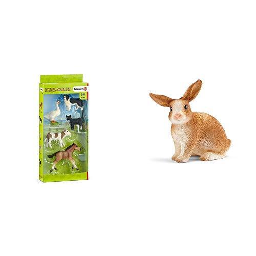 Schleich 42386 - Farm Word Tier-Mix - Spielzeug &  13827 Figur
