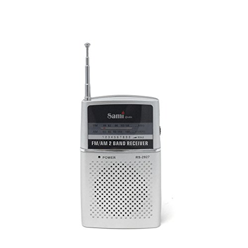 Sami - Radio bolsillo 2 bandas AM/FM más auriculares