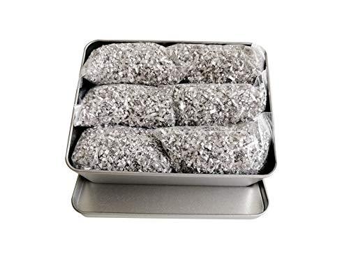 Emergency Fire Starter Magnesium 99% Pure 6 Bags + 1 Free Tin Box Camping Hiking Bushcraft