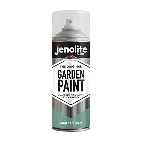 JENOLITE Garden Furniture Spray Paint - Chalky Bramwell Green - 400ml...