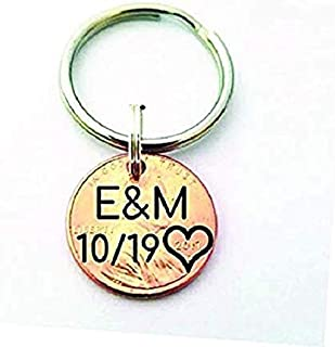 Best date engraved keychain Reviews