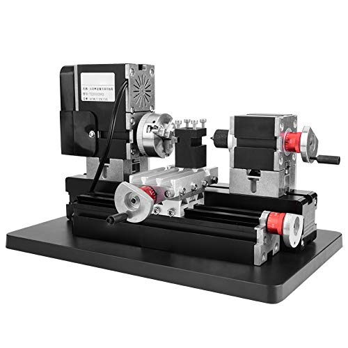 Great Deal! Mini Metal Lathe Milling Machine Motor Pace 12,000RPM 60W DIY Tool Lathe Set or Mini Pre...