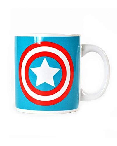 Horror-Shop Captain America Tasse Lieblingstasse aus Keramik für Fans und Sammler