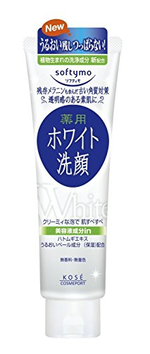 Kose Cosmeport Softymo Face Wash White 190g