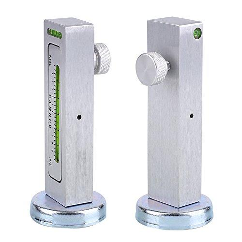Sedeta® 1 pièce Véhicules réglables de Voiture de Camion d'alignement de Roue de Pneu d'entretoise de cambrure d'outil magnétique
