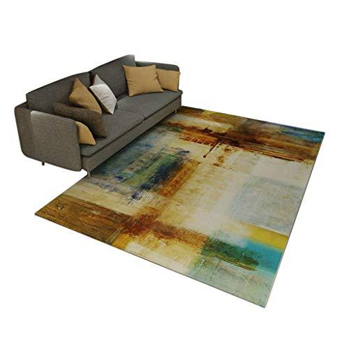 Woonkamertapijt, Scandinavische stijl, woonkamer, tapijt, rechthoekig, voor slaapkamer, nachtkastje, salontafel, tapijt, wasbaar, 120 x 160 cm 180*280cm