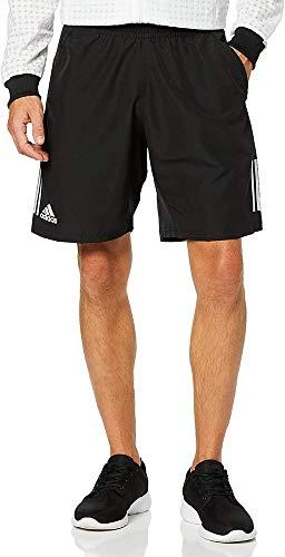 adidas Herren Club 3STR Short Sport, White/Black, XL
