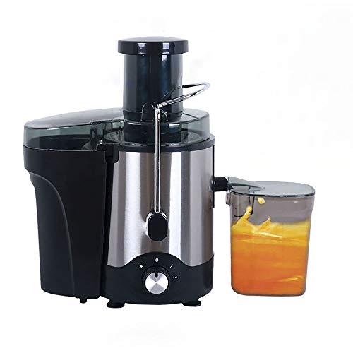 Exprimidor, electrico Automático Comercial Multifunción Tienda de jugos de frutas Pequeño residuo Separación de jugos Gran diámetro Sin agua y fácil de limpiar