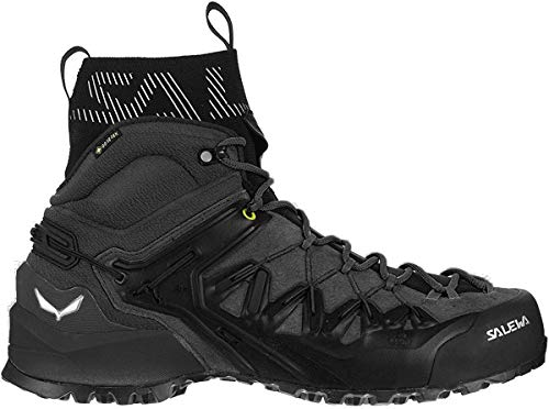Salewa Wildfire Edge GTX Mid Hiking Boot - Men's Black/Black, 10.5