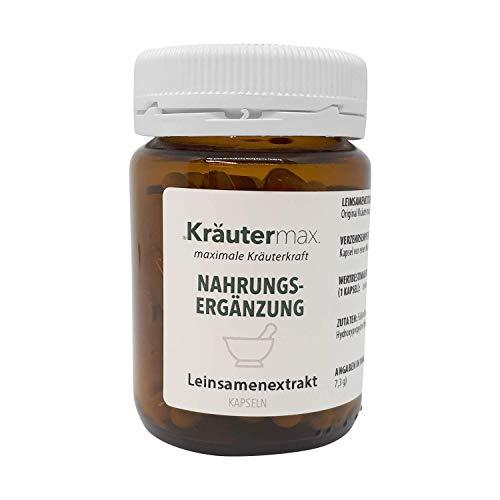 Leinsamen-Extrakt Kapseln 1 x 90 Stück Glutenfrei