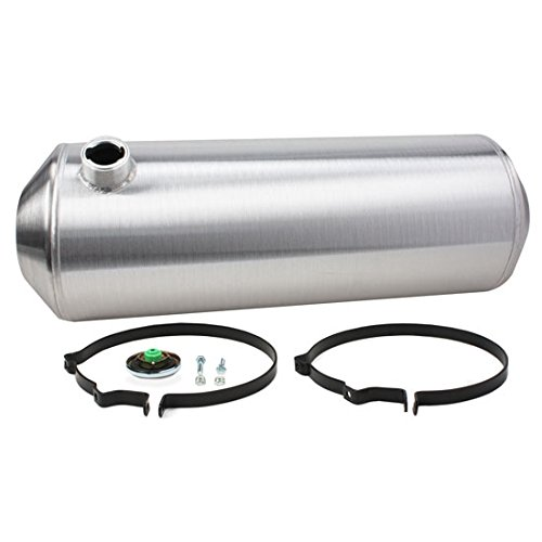 Spun Aluminum Fuel Tank, 9-1/2 Gallon, 10 x 28-1/2 Inch