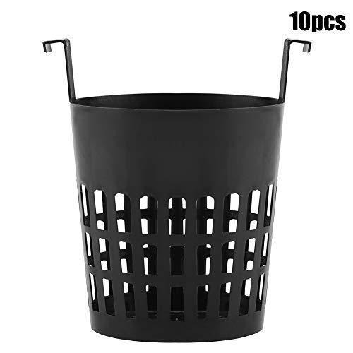 Panier de plantation - Pot de maille végétale de haute qualité, panier de plantation, plantation hydroponique aéroponique, pots de culture, 10pcs