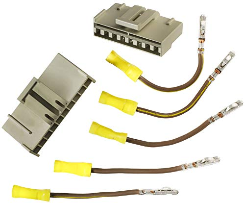Engine Fan Harness Connector Kit Compatible with Ford E4FZ-8C290-A