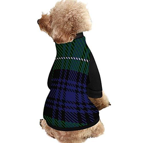 Camisa de perro para mascotas, clan escocés Abercrombie, ropa de tartán para...