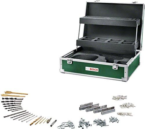 Bosch Werkzeug Koffer (mit 241tlg. Zubehör Set für Bohranwendungen)