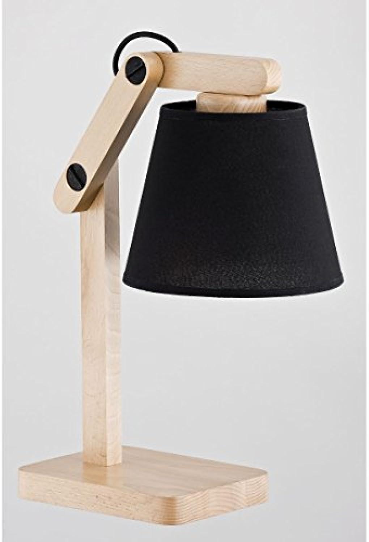Moderner Tischlampe 1x60W E27 JOGA schwarz 22718 Alfa
