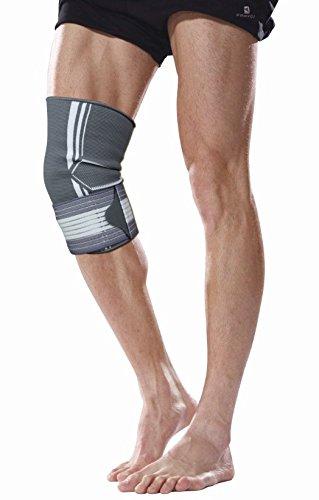 Bonmedico® Celo, die fixierbare Kniebandage sorgt für mehr Stabilität beim Sport und im Alltag, wirkt schmerzlindernd bei Gelenkkrankheiten wie Arthrose, schützt beim Laufen und Joggen, für Damen und Herren, rechts und links tragbar - 7