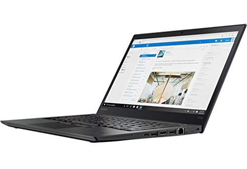 Lenovo ThinkPad T470s 14 Zoll 1920×1080 Full HD Intel Core i5 256GB SSD Festplatte 8GB Speicher Windows 10 Pro MAR Webcam Tastaturbeleuchtung UMTS LTE (Generalüberholt)