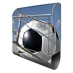 Fußball Briefkasten Edelstahl