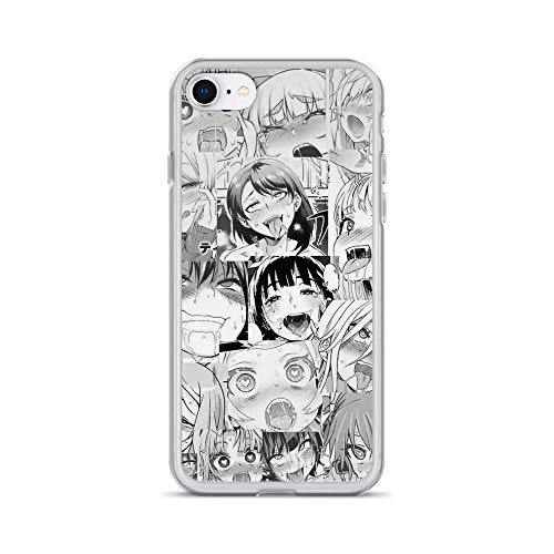 RobertsShop Sexy Anime Faces Case Cover Compatible for iPhone (7/8)