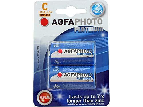 AgfaPhoto 70104 Bebé C LR 14 Batería (Pack de 2)