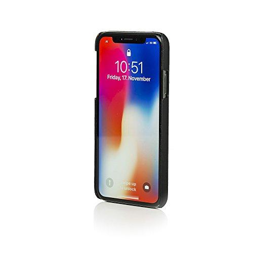 Galeli LENNYIPX-M01 Mike Schutzhülle Lenny für Apple iPhone X Schwarz