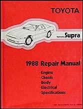 1988 Toyota Supra Repair Shop Manual Original