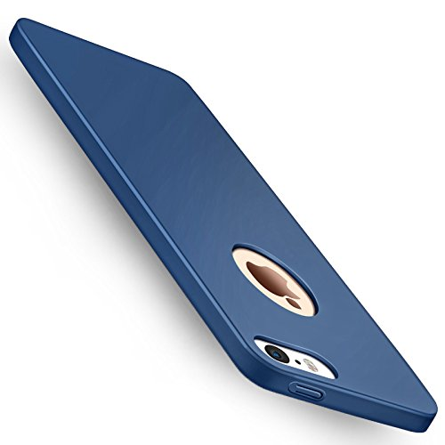 Cover iPhone SE, Joyguard Custodia iPhone SE/5/5S [Ultra sottile] [Leggera] Antigraffio Antiscivolo Case iPhone SE/5/5S Shell iPhone per iPhone SE/5/5S - 4.0 pollice - Blu Scuro