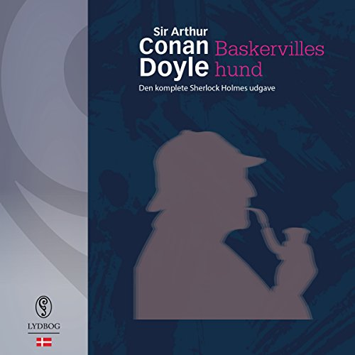 Baskervilles hund audiobook cover art