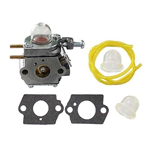 Gmasuber Junta de carburador Primer bombilla línea de combustible para Yard Man YM21CS YM71SS Y128 Y60 Y2900EC Y2700EC Y25 Y2500 Y2550EC
