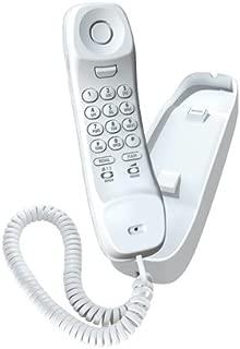 Uniden Slim1100 Slimline Corded Phone, white, one phone