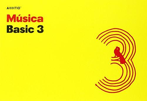 Additio Basic 3 - Cuaderno de música, color amarillo