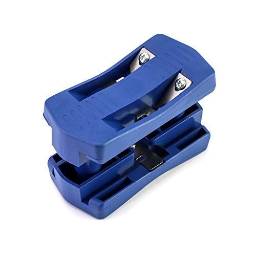 QWORK Cortador de bandas de borde de madera , para cortador de bordes de plástico , PVC , madera , herramienta de carpintería