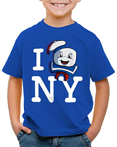 style3 Love Malvavisco Camiseta para Niños T-Shirt Cazafantasmas azucarillo New York