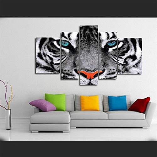 aicedu Modern Wall Art Poster Modular Pinturas en Lienzo 5 Piezas Anim