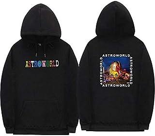 Astroworld Mens Hoodie for Men Women Soft Long Sleeve Pullover Sweatshirt Fleece Pullover Hoodie Clothing
