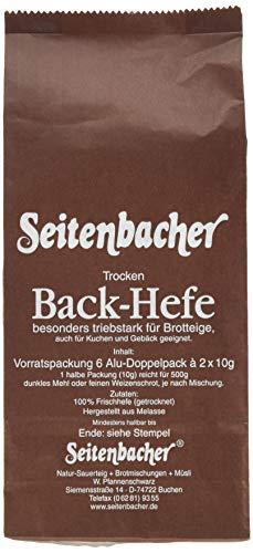 Seitenbacher Hefe Vorratspack 6x20g (1 x 120 g)