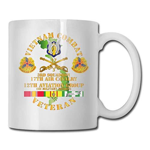 N\A 62a División de Caballería Taza de café Divertida de cerámica Ultra Blanca Taza Corta Taza de Marca Taza de café única de oz