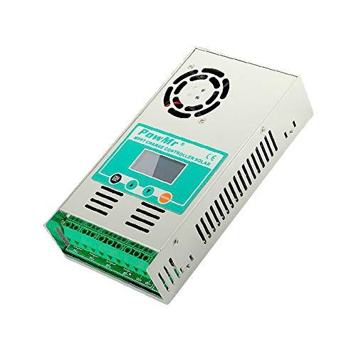 MPPT-60A Veilige en betrouwbare solar-laad- en ontladerregelaar 12/24/36/48V Auto-Max DC190V-ingangsregelaar op zonne-energie met ventilator