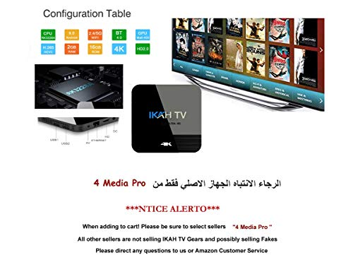 New Arabic IPTV Receiver NO Monthly FEE 3500+ Channels Including 50 Country in Africa, North America, European, Asian, All Arabic Countries. (2 Years Subscription)